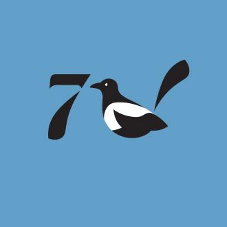 """Логотип кафе """"7 сорок"""""""