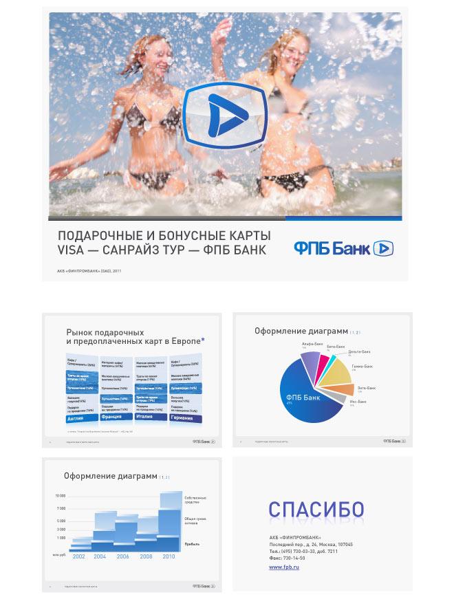Дизайн презентации ФПБ Банка